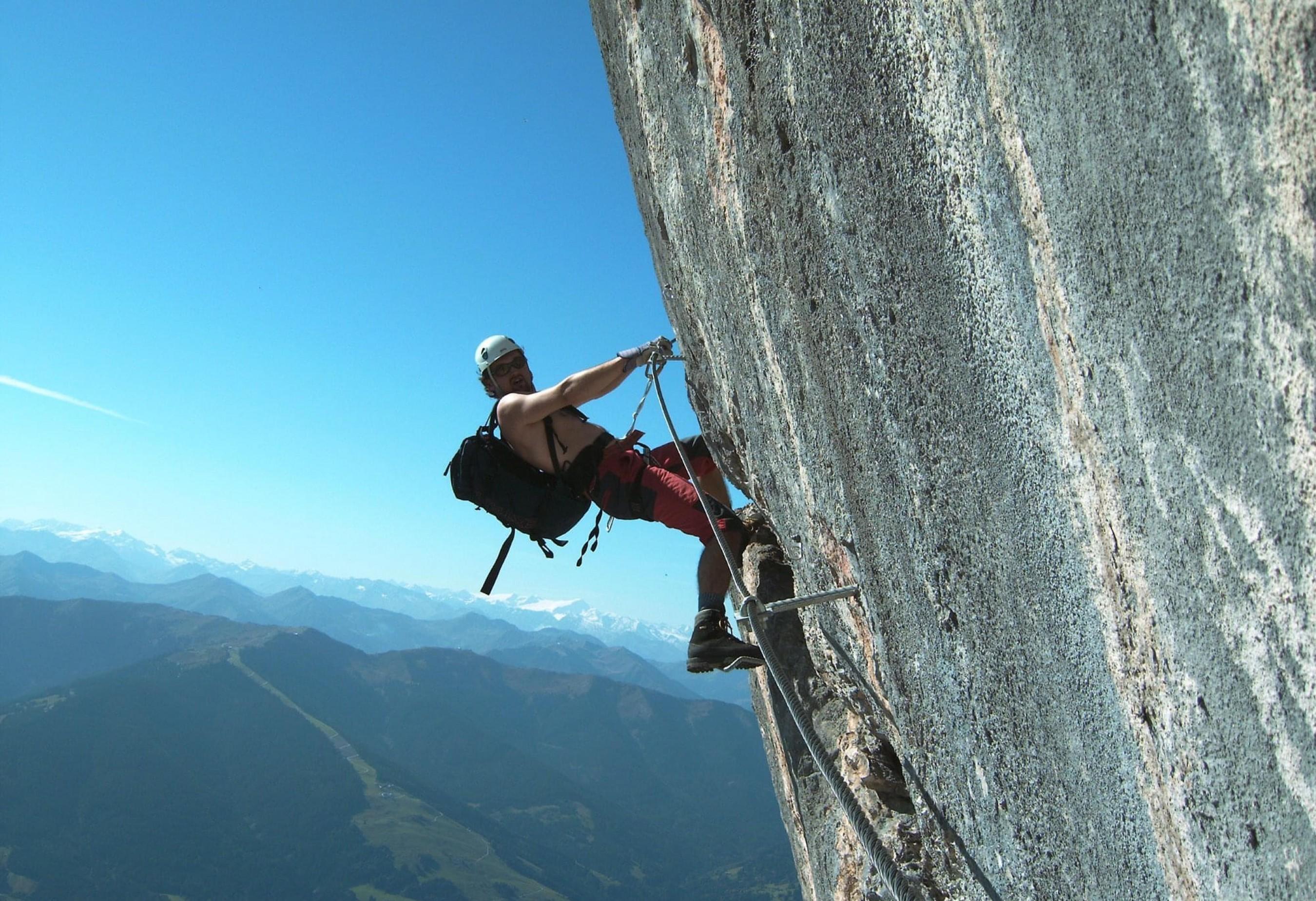 Klettersteig Kitzbühel : Klettersteige kitzalps guide st johann in tirol