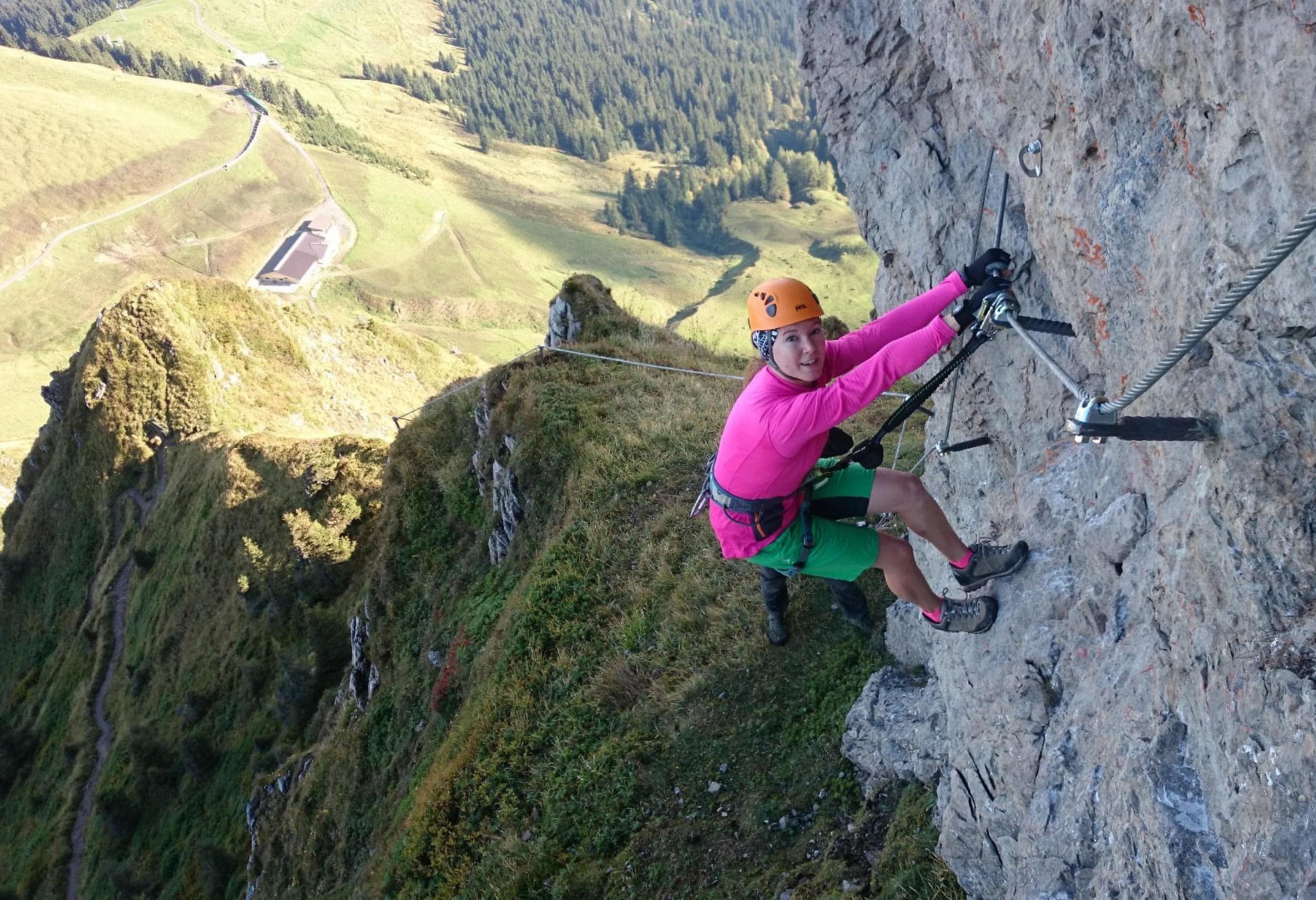 Klettersteig Kitzbüheler Horn : Klettersteige kitzalps guide st johann in tirol